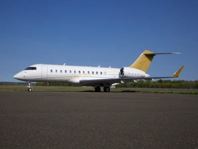 Global Express charter aircraft now available from Sharjah