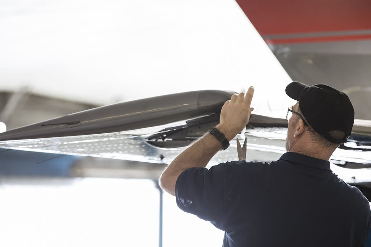 BAE Hawker maintenance centre