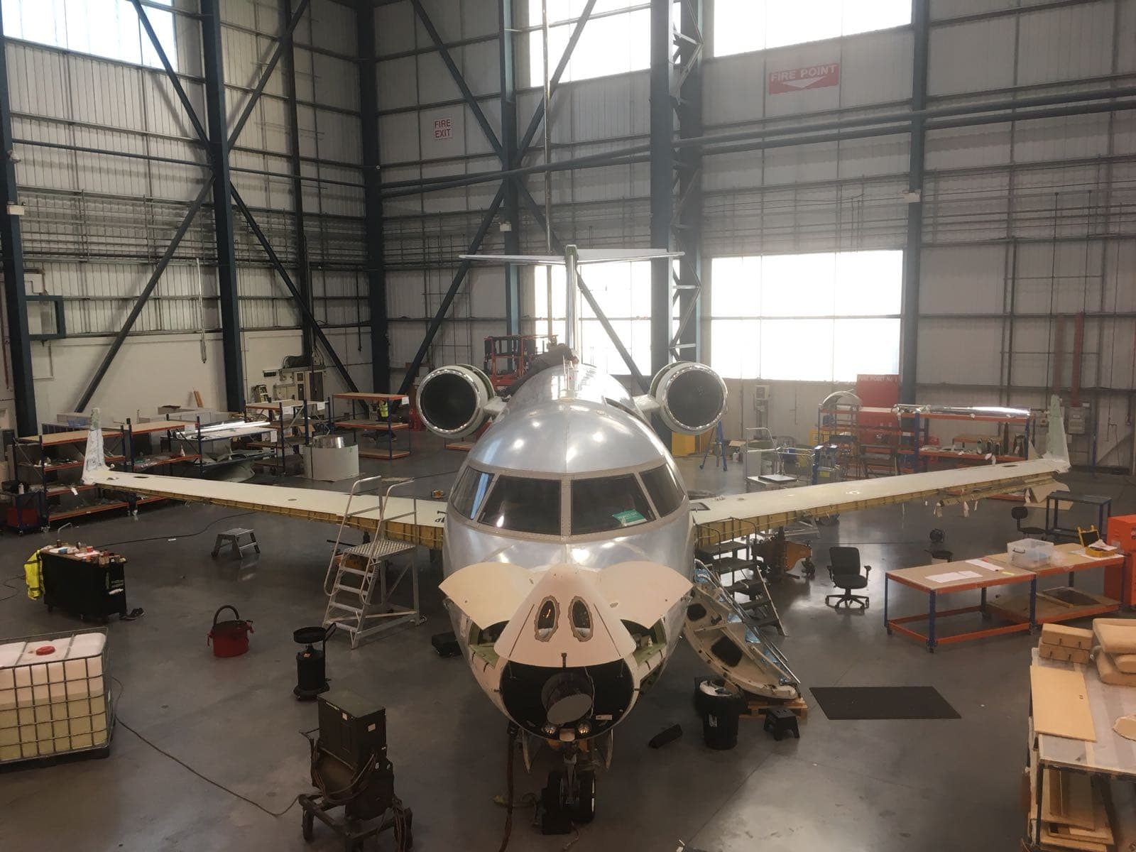 Challenger 604 ADS-B Out