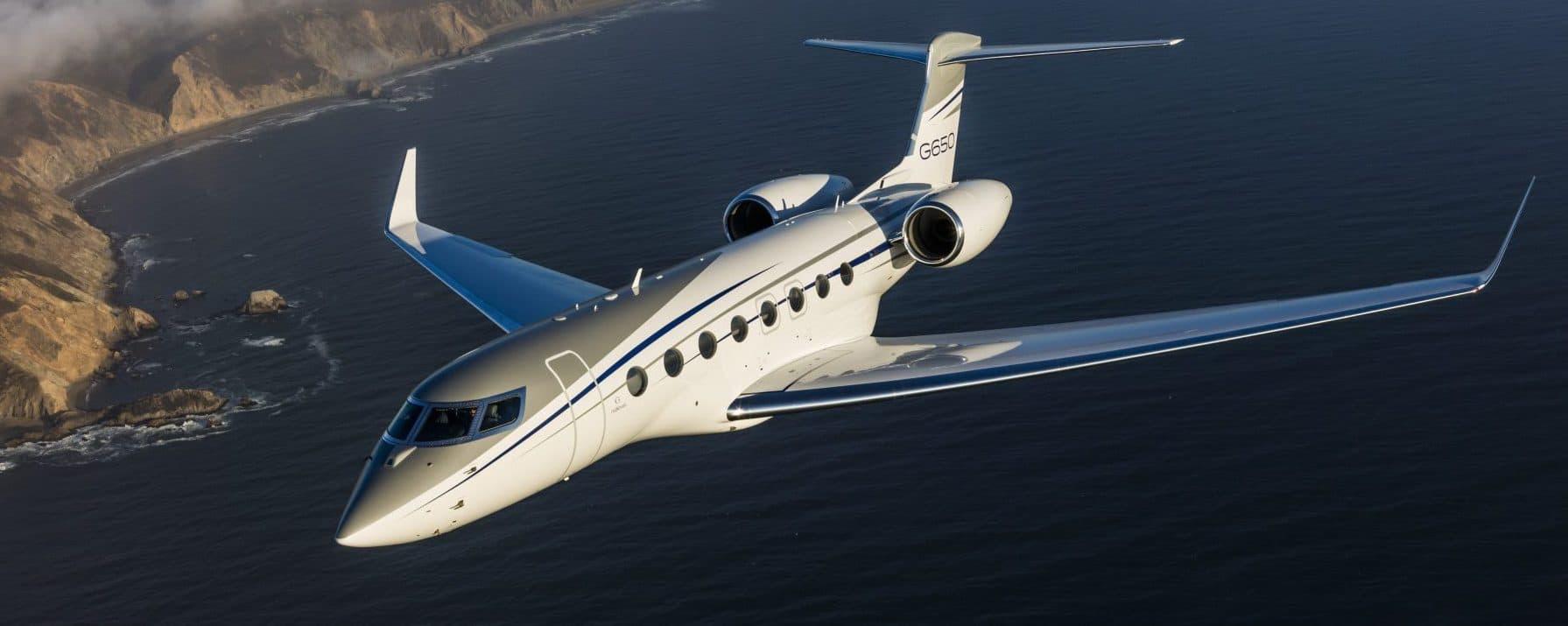 Gulfstream G650ER aircraft management