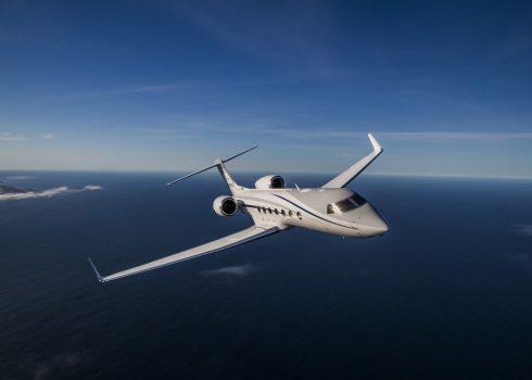 Gulfstream 550 1