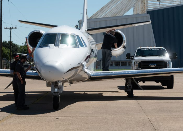 SuperBowl aircraft maintenance support for OPF, PBI and FXE.