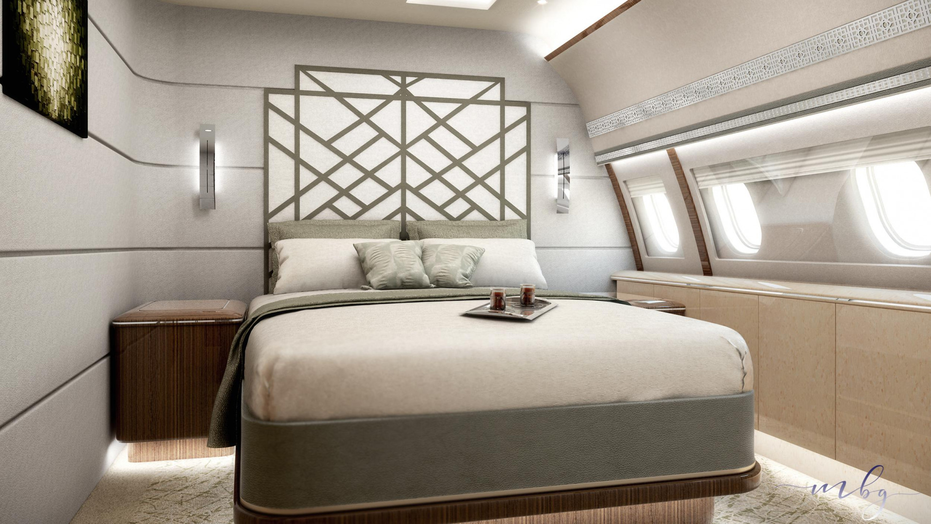 A320 bedroom