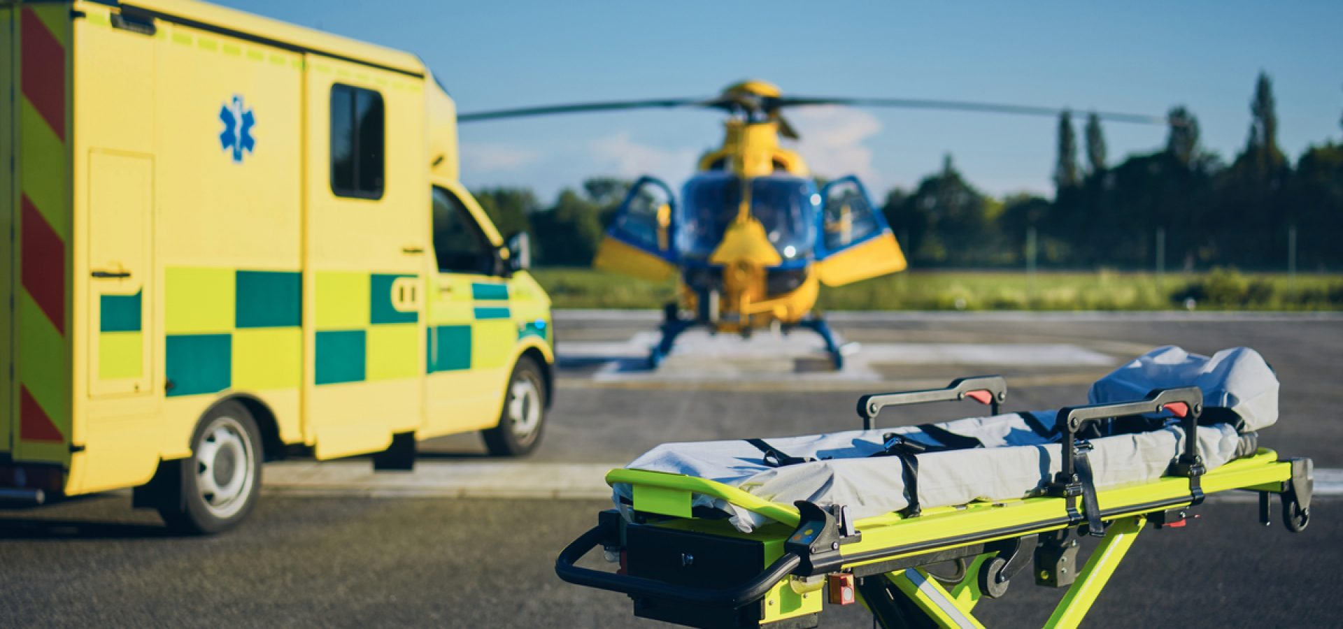 Air Ambulance, HEMS  & rescue operations