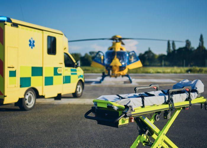 Bournemouth Air Festival STEM Air Ambulance marquee