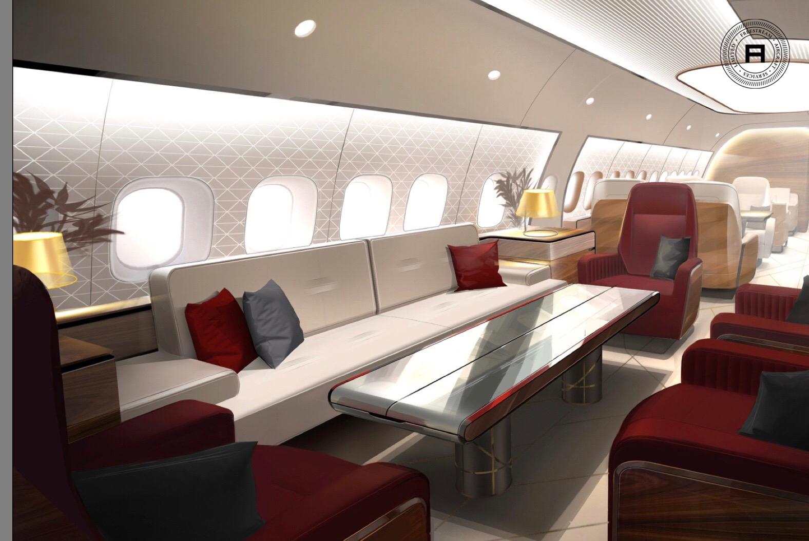Freestream business aviation design