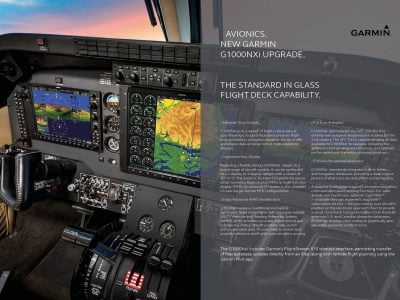 King Air and Garmin G1000NXi upgrade