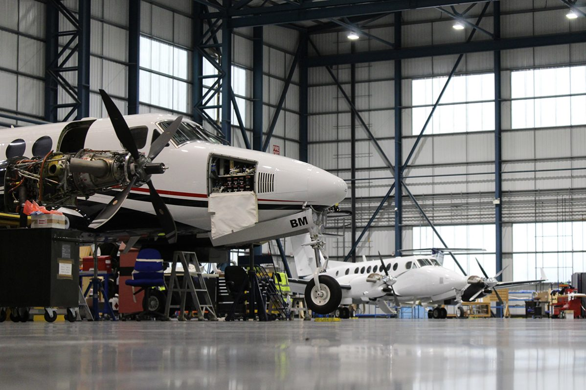 Maintaining the King Air Platform