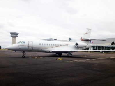 Falcon 7X returns to our managed fleet