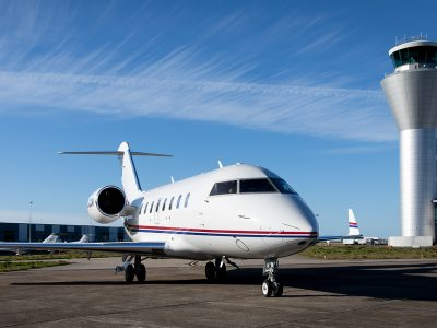 Bombardier Challenger 650 joins our charter fleet
